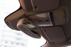 Inre (Designo) av använd Mercedes-Benz S-grupp S350 länge (W221 Royaltyfri Foto