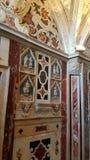 Inre detalj av Santa Maria Cathedral i Cagliari, Sardinia Italien Fotografering för Bildbyråer