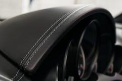 Inre detalj för modern affärsbil fotografering för bildbyråer
