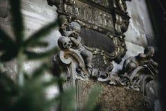 Inre detaljer av Sts Stephen domkyrka arkivfoto