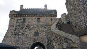 Inre Edinburgslott royaltyfri bild