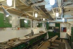 Inre för HMS Belfast Royaltyfria Bilder