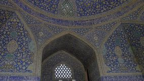 Inre för Isfahan schahmoské arkivfilmer