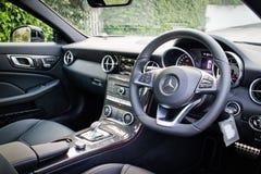 Inre 2016 för Mercedes-AMG SLC 43 Royaltyfria Foton