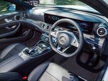 Inre för Mercedes-Benz E 200 gods 2017 Arkivbild