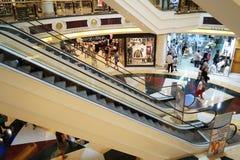 Inre för shoppingmitt Arkivbild