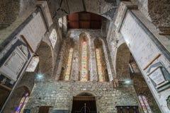 Inre för St Mary Cathedral Fotografering för Bildbyråer