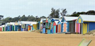 Inre för strand House Royaltyfria Foton