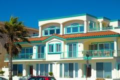 Inre för strand House Royaltyfri Fotografi