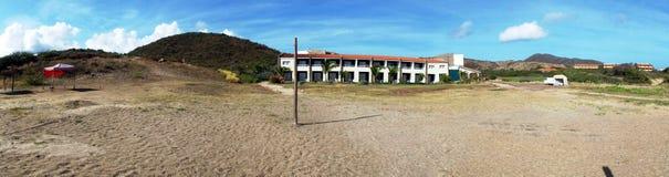 Inre för strand House Arkivbilder