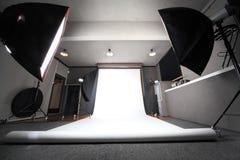 inre fotoprofessionellstudio Royaltyfria Foton