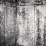 Inre fragment för abstrakt grungy grå färgbetong Royaltyfri Bild