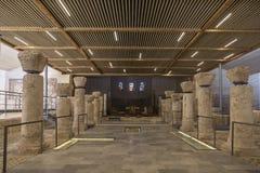 Inre franciscan av templet på monteringshimmel, stället av den föregav döden av profeten Moses och stället från var gud royaltyfria foton