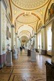 Inre galleri av forntida konst, det statliga eremitboningmuseet, St Arkivbilder