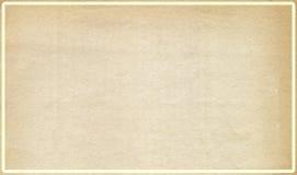 inre gammalt papper för ram Arkivbilder