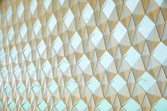 Inre geometrisk bakgrund för abstrakt design Royaltyfri Foto
