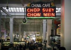 Inre Grand Central marknad Los Angeles Kalifornien arkivbild