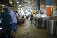 Inre Grand Central marknad Los Angeles Kalifornien Arkivfoto