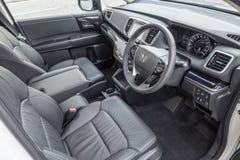 Inre Honda Odyssey 2018 royaltyfri foto