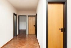 Inre hus, korridor arkivfoto