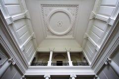 Inre huvudsakligt rum för tak på Russborough det värdiga huset, Irland Royaltyfria Bilder
