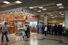 inre international för flygplatshurghada Fotografering för Bildbyråer