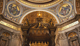 inre italy rome vatican royaltyfri fotografi