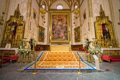 inre jeronimo verkliga san för de el iglesia Royaltyfri Fotografi
