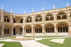 inre jeronimoskloster Royaltyfri Bild