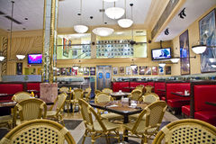 Inre Jerrys delikatessaffär i södra Miami Royaltyfri Fotografi