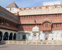 Inre Junagarh fort Royaltyfria Foton