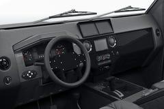 Inre kabin för bil, slutsikt Royaltyfri Fotografi