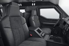 Inre kabinplats för bil Arkivfoto