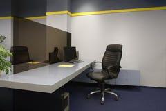 inre kontor Arkivfoton