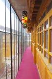 inre korridorer Arkivfoto