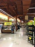 Inre koscher gång för livsmedelsbutik Fotografering för Bildbyråer