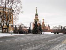 inre kremlin moscow Turnera av Kreml Arkivfoton