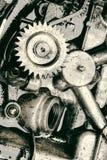 Inre kugghjul av motorn Fotografering för Bildbyråer