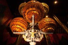 Inre kunglig paviljong på kungliga Flora Expo Royaltyfri Bild