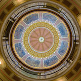 Inre kupol för Alabama statKapitolium Royaltyfri Fotografi