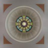 Inre kupol för Florida Kapitolium Arkivbilder
