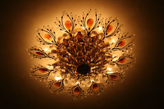inre lampvardagsrum Royaltyfri Fotografi