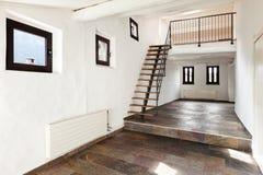 Inre lantligt hus Arkivfoto