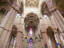 Inre Liebfrauen för bågar kyrka i trieren, Tyskland Royaltyfria Bilder