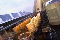 inre limousine Fotografering för Bildbyråer