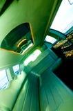 inre limousine royaltyfri bild
