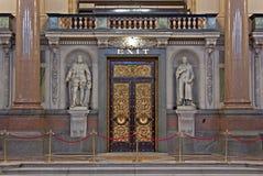 inre liverpool för georges korridor st uk Royaltyfri Bild