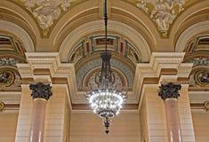 inre liverpool för georges korridor st uk Royaltyfria Bilder