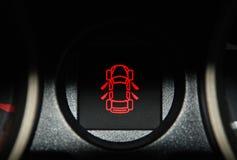 inre ljus varning för bil Royaltyfri Bild