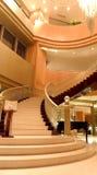 inre lobby för hotell Arkivbild